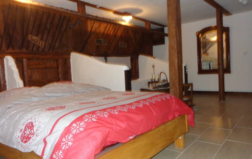 Location de vacances - Gîte à Olwisheim - grande chambre