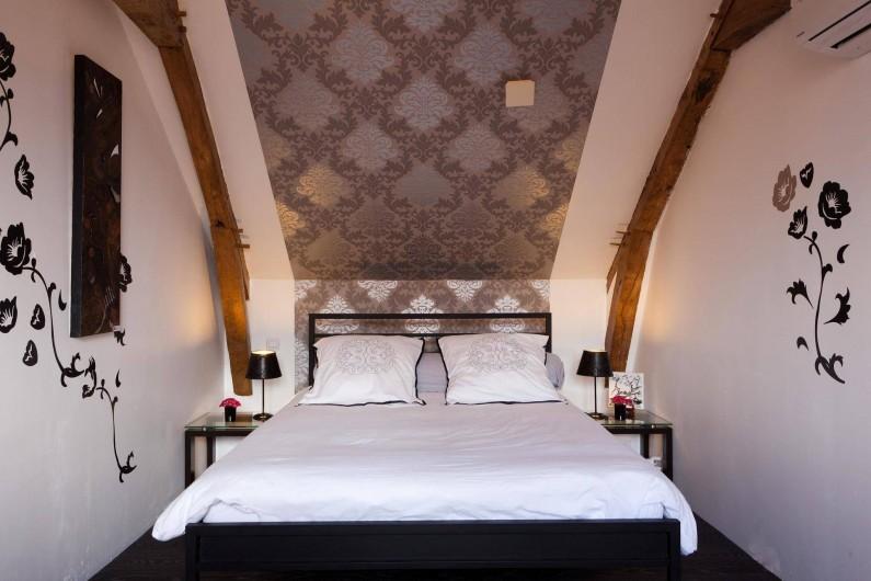 Location de vacances - Chambre d'hôtes à Les Iffs - la chambre baroque de 23m2