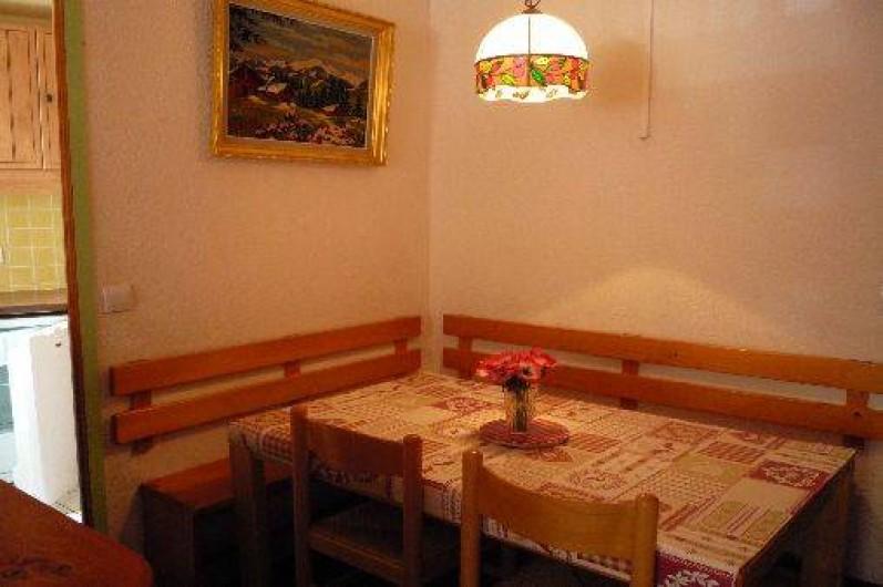 Location de vacances - Appartement à Les Menuires - Partie repas