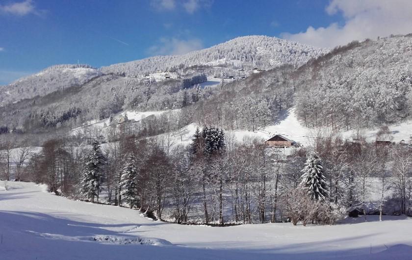 Location de vacances - Gîte à Bussang - paysage