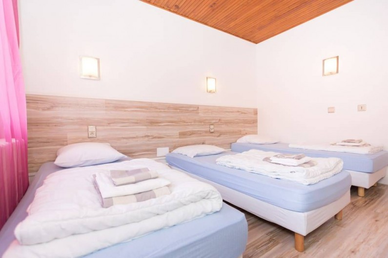 Location de vacances - Gîte à Bussang - chambre de 3