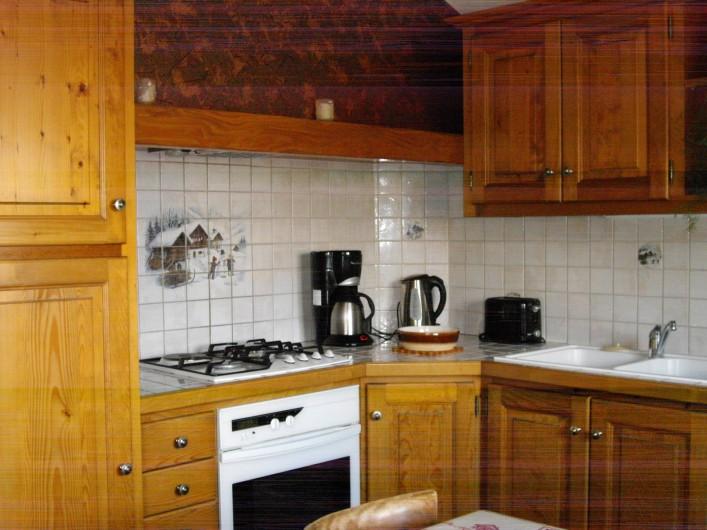 Location de vacances - Appartement à Combloux - Coin cuisine