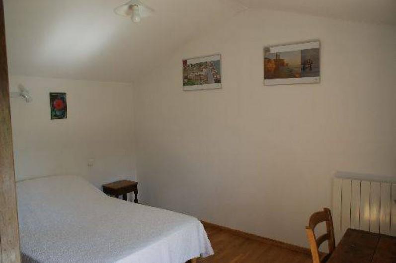 Location de vacances - Gîte à Surgères - Chambre 5 à l'étage : 1 lit double