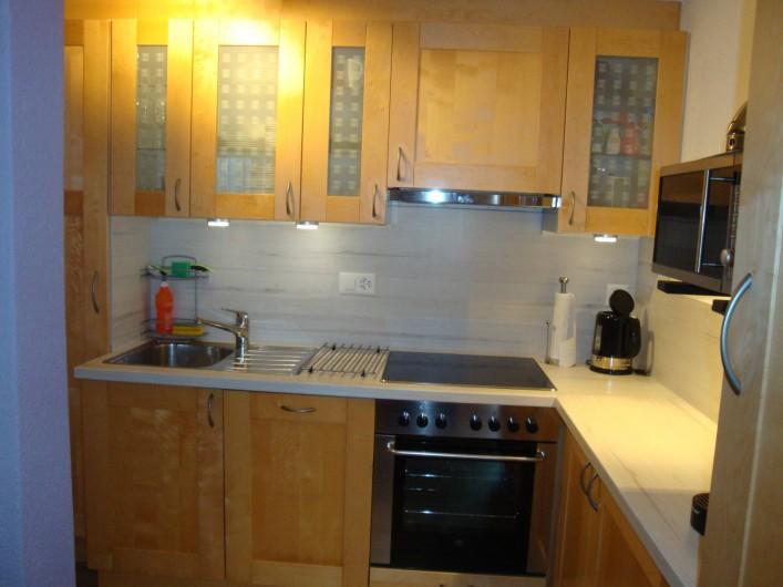 Location de vacances - Appartement à Les Breuleux - cuisine équipée