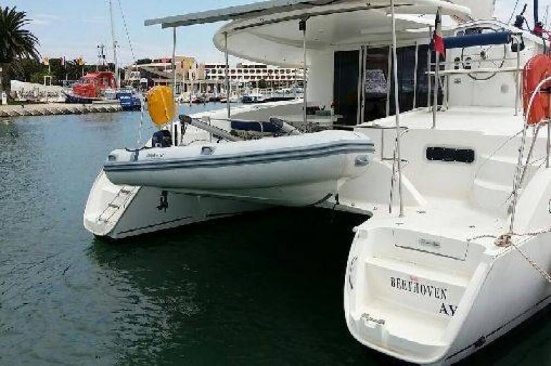 Location de vacances - Catamaran à Ajaccio