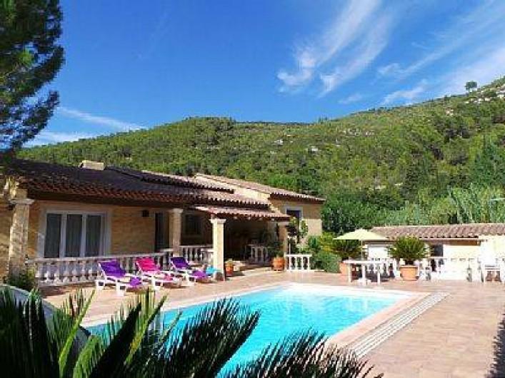 """Location de vacances - Villa à Solliès-Toucas - LA VILLA """"HACIENDA DU GAPEAU""""."""