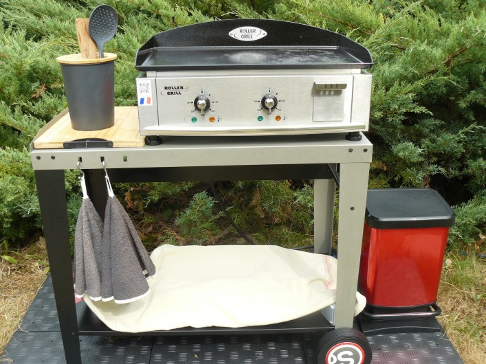 """Location de vacances - Villa à Arsac - Un super """"Roller Gril """"professionnel pour vos barbecue"""