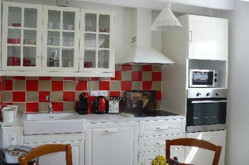 Location de vacances - Villa à Arsac - micro onde, induction, frigo//congélateur, bouilloire,grille pain, lave-vaissel