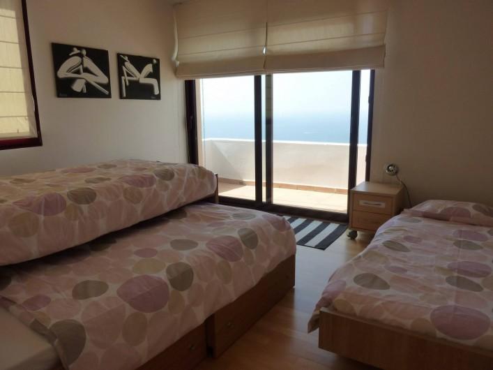 Location de vacances - Villa à Altea - chambre nº 5(sans porte) au 1er étage