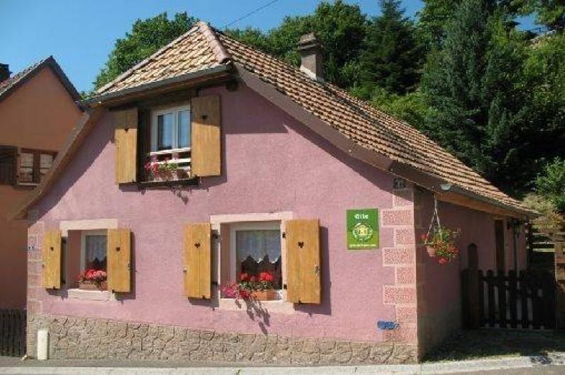 Location de vacances - Gîte à Bernardvillé