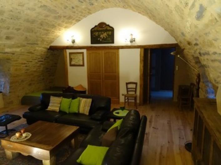 Location de vacances - Gîte à Fontaneilles - Pièce de vie 2 à l'étage
