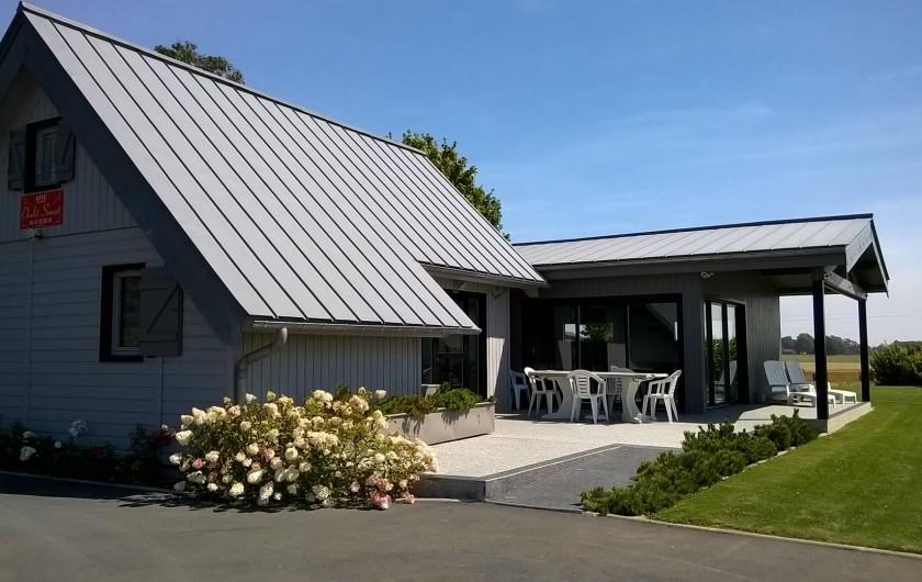 Location de vacances - Gîte à Saint-Martin-aux-Buneaux - Terrasse