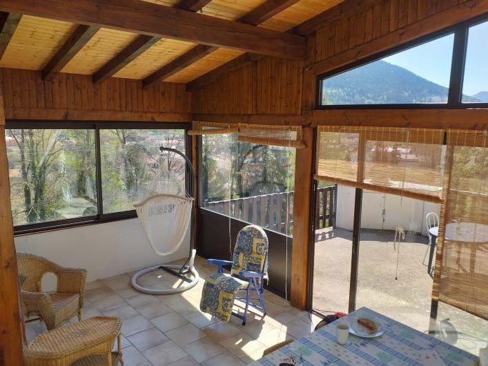Location de vacances - Gîte à Bussang - Petit Appartement - Veranda
