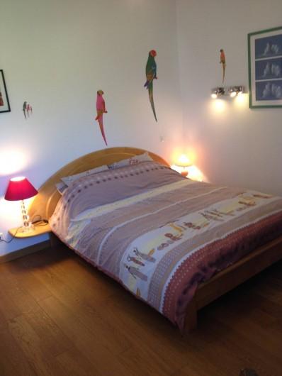 Location de vacances - Villa à Gâvres - chambre 3 (lit en 140)