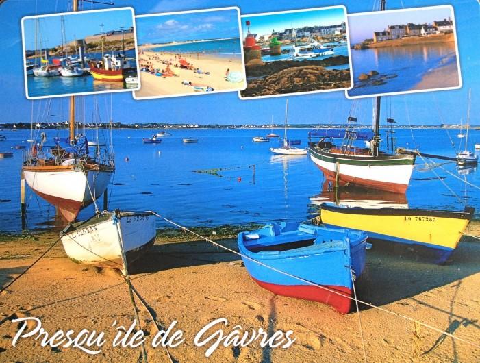 Location de vacances - Villa à Gâvres - La très agréable  presqu'île de Gâvres...