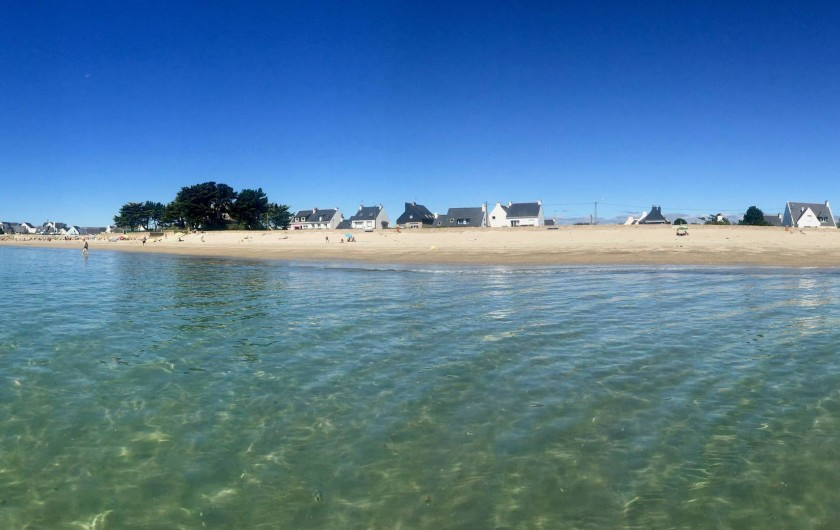 Location de vacances - Villa à Gâvres - Vue de la plage