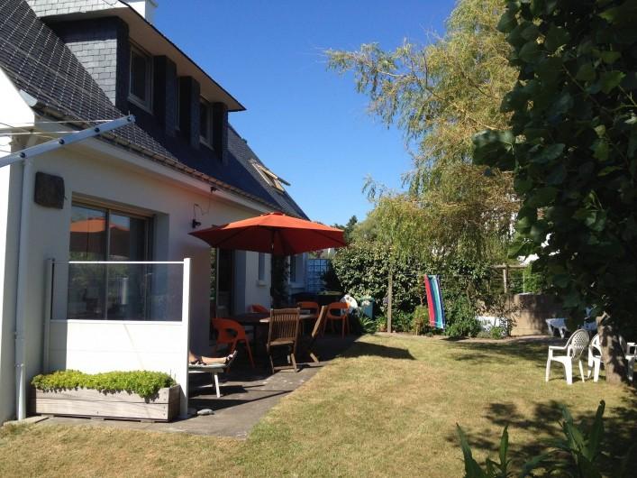 Location de vacances - Villa à Gâvres - côté plein sud