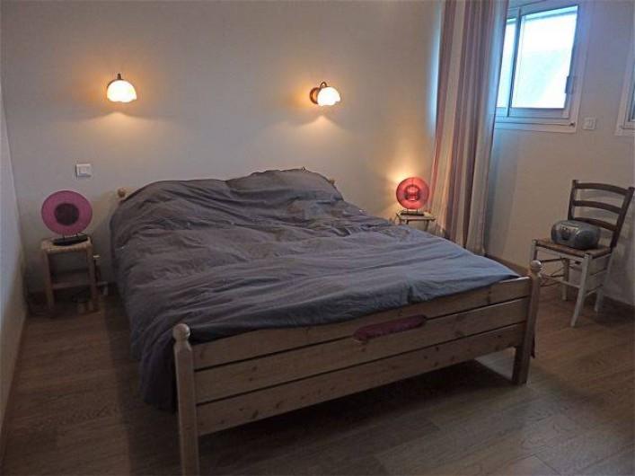 Location de vacances - Villa à Gâvres - chambre 1 (lit en 160)