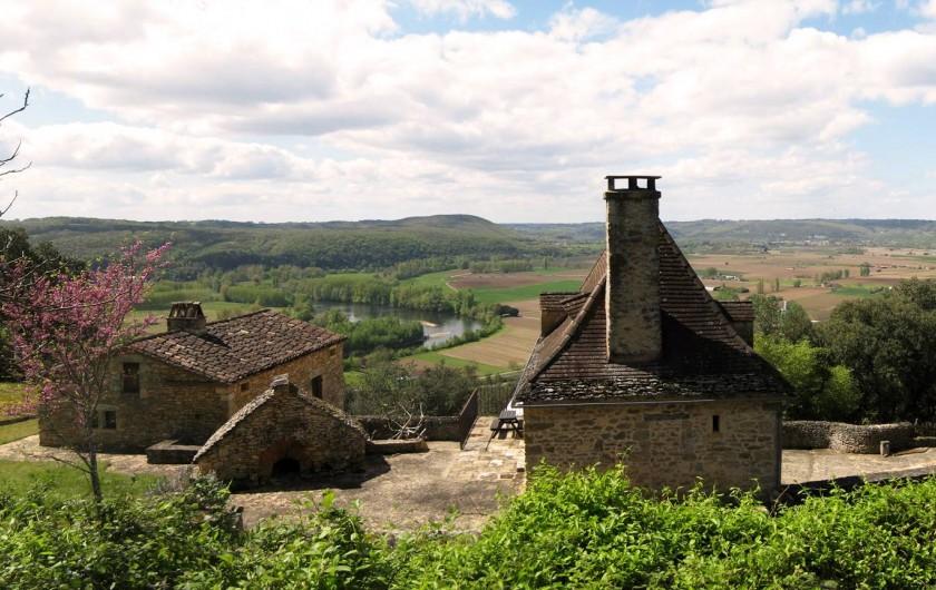 Location de vacances - Maison - Villa à Bézenac - Un balcon sur la Dordogne