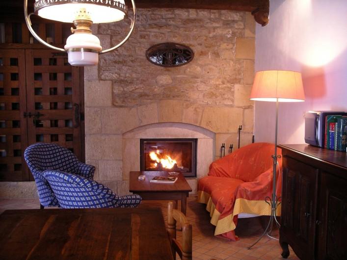 Location de vacances - Maison - Villa à Bézenac - Une bonne flambée