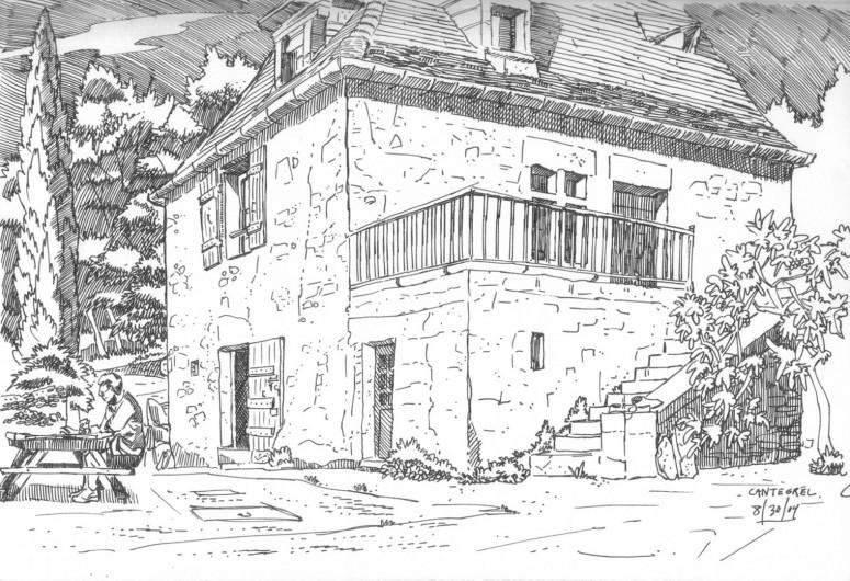 Location de vacances - Maison - Villa à Bézenac - La cour