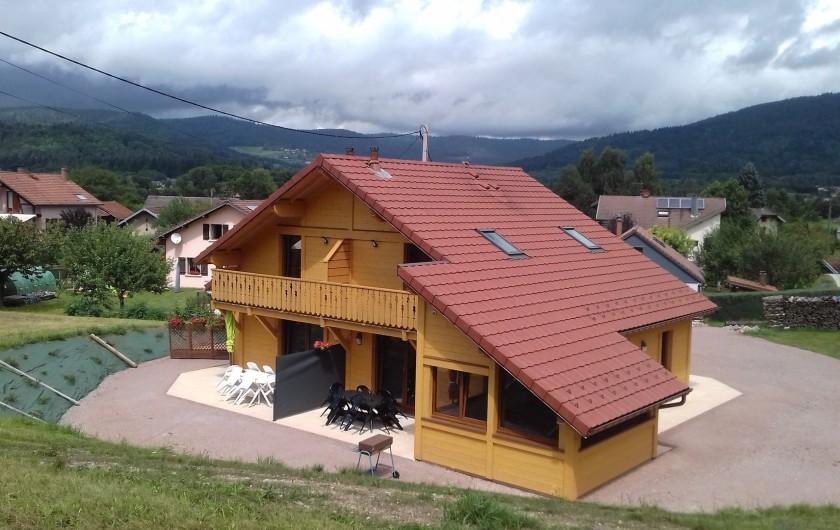 Location de vacances - Chalet à Le Syndicat