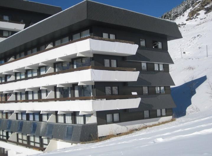 Location de vacances - Appartement à Les Menuires - Vue de la résidence