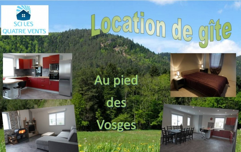 Location de vacances - Gîte à Ranspach