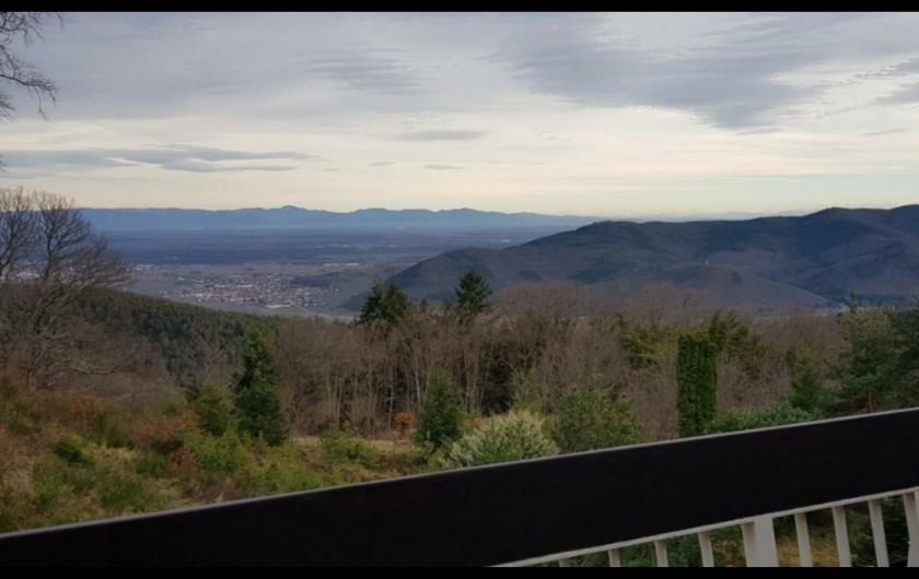 Location de vacances - Studio à Trois Épis - vue du balcon