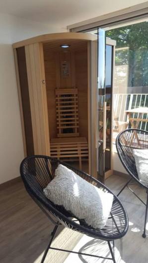 Location de vacances - Studio à Trois Épis - sauna privatif