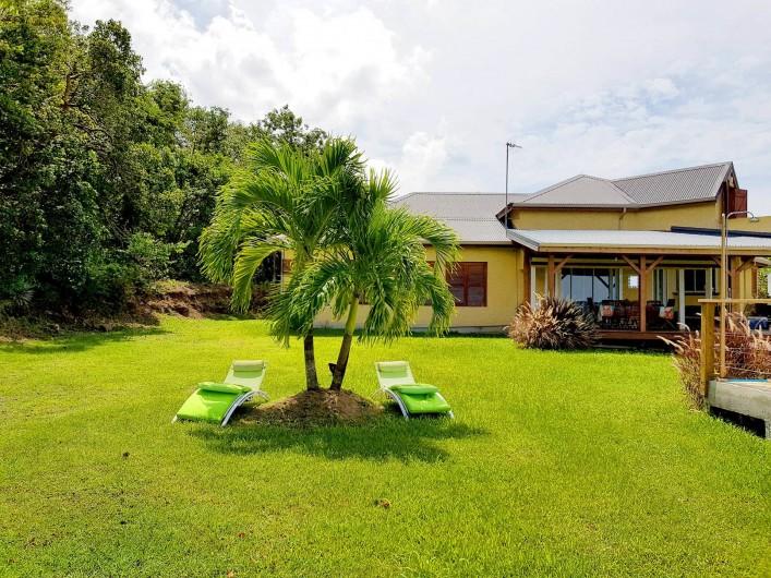 Location de vacances - Villa à Deshaies - Jardin