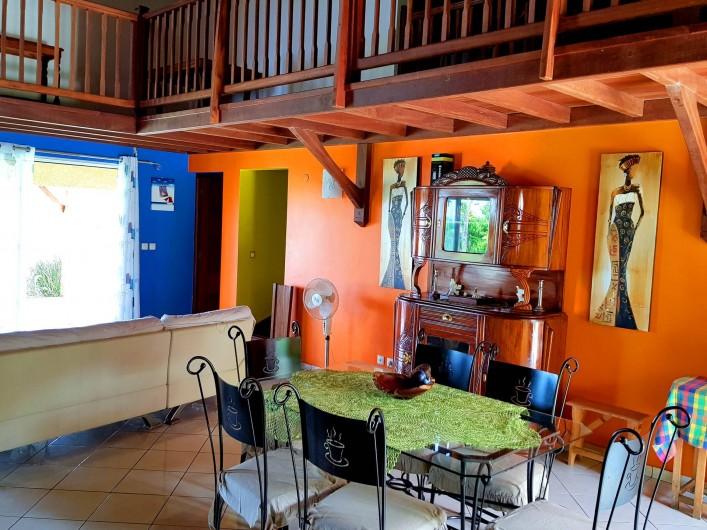 Location de vacances - Villa à Deshaies - Séjour