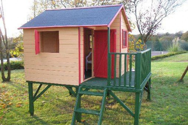 Location de vacances - Gîte à Clohars-Carnoët - Cabane;  jeux pour enfants