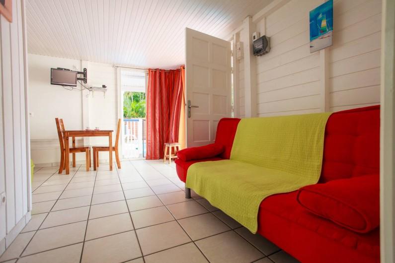 Location de vacances - Appartement à Le Diamant - espace à vivre - bungalow