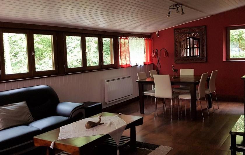 Location de vacances - Gîte à Mayran - Salon - Salle à manger