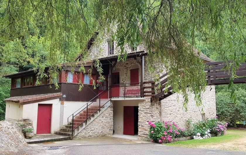 Location de vacances - Gîte à Mayran - Moulin vue à l'arrivée