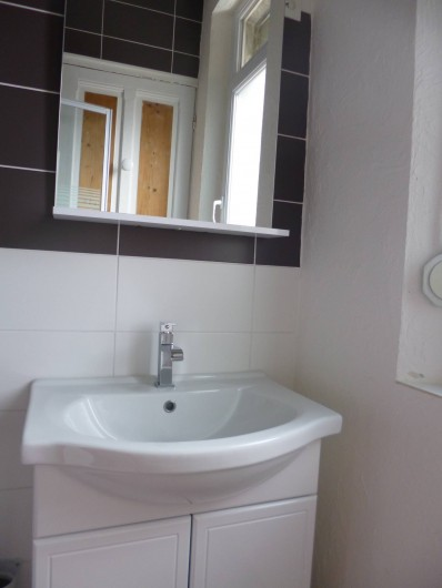 Location de vacances - Studio à Berck - lavabo sur meuble
