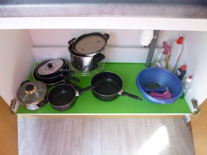 Location de vacances - Studio à Berck - batterie cuisine