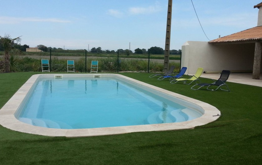 Location de vacances - Appartement à Le Sambuc - PISCINE