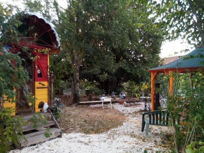 Location de vacances - Roulotte à Ervauville