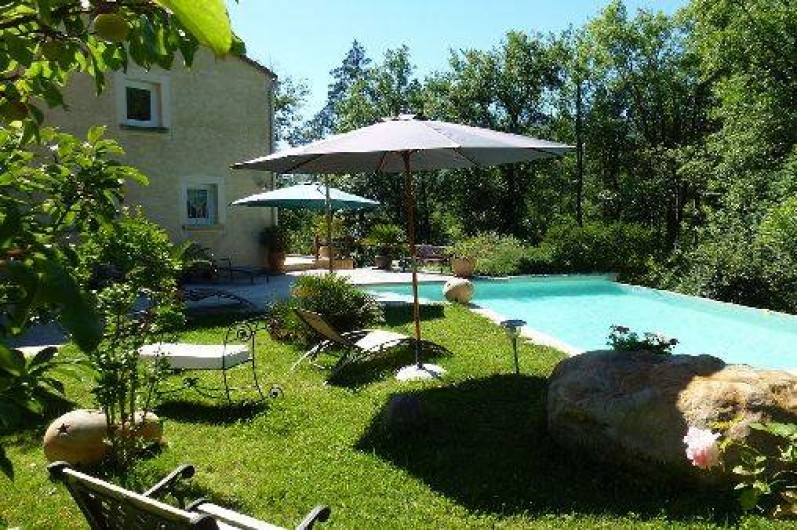 Location De Vacances   Chambre Du0027hôtes à Le Vigan   Piscine à Débordement