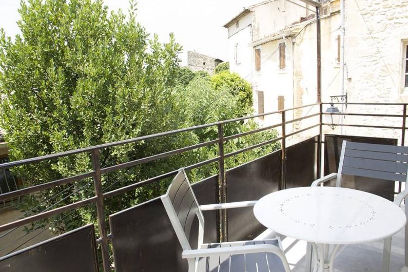 Location de vacances - Gîte à Robion - Coté balcon