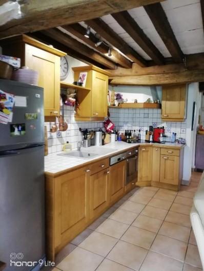Location de vacances - Chambre d'hôtes à Saint-Brisson - cuisine  partagée