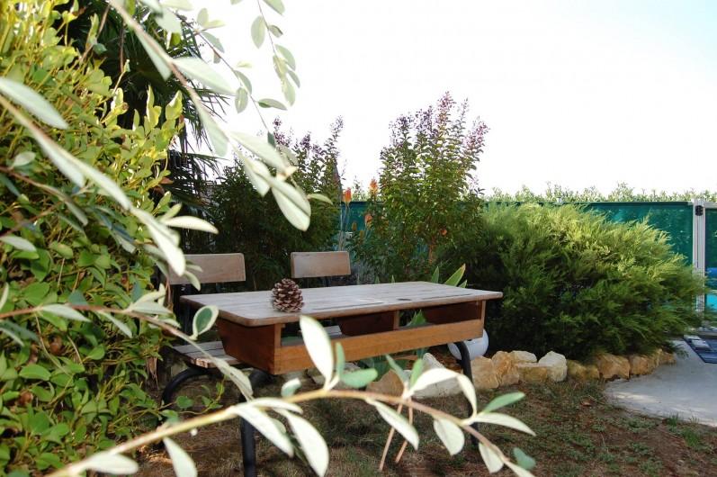 Location de vacances - Gîte à Gémozac - Jardin