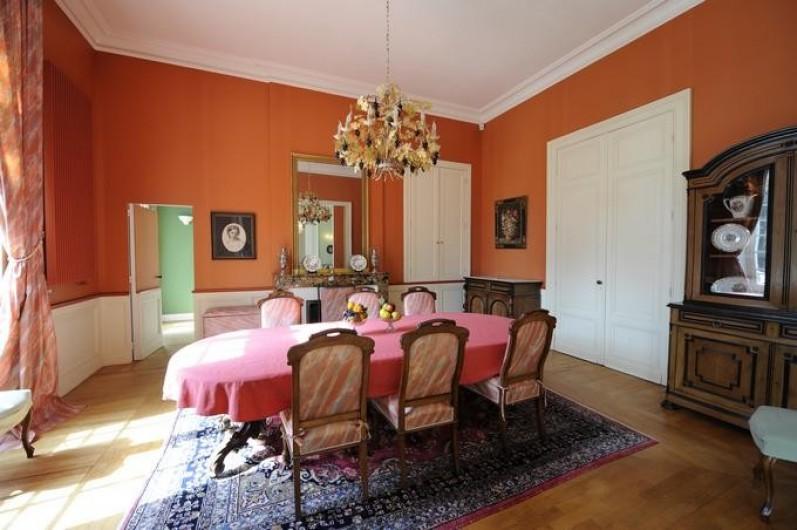 Location de vacances - Château - Manoir à Beychac-et-Caillau - Salle à manger