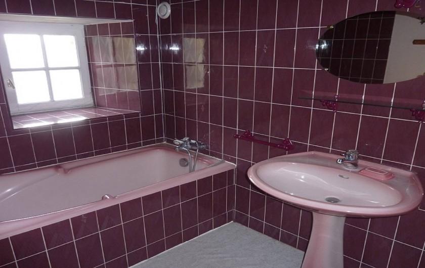 Location de vacances - Gîte à Pléven - Salle de bain