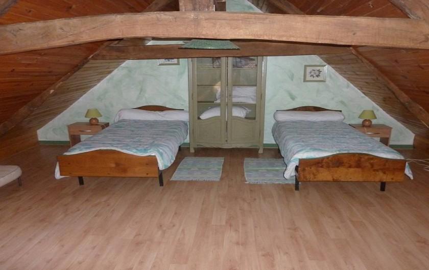 Location de vacances - Gîte à Pléven - Chambre