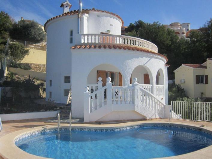 Location de vacances - Villa à Alcalà de Xivert - La piscine privée