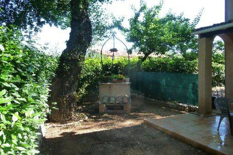 Location de vacances - Studio à Vidauban - jardin