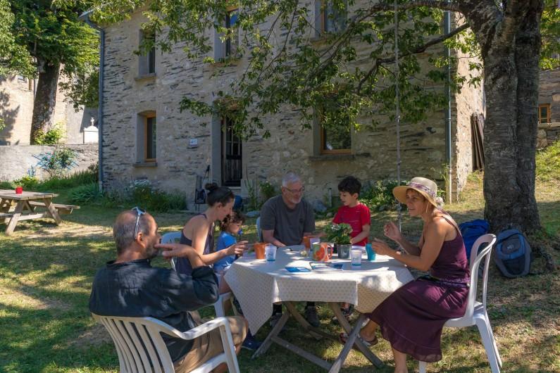 Location de vacances - Gîte à Ornon - Sur la terrasse